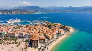 la vielle ville et citadelle d'Ajaccio